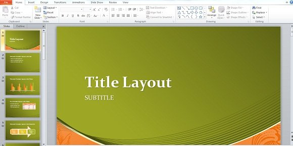 Download free powerpoint template and focus more on the content title screeshot toneelgroepblik Choice Image