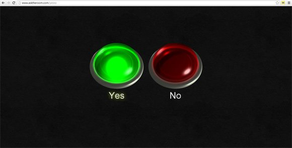 yes no poll powerpoint template