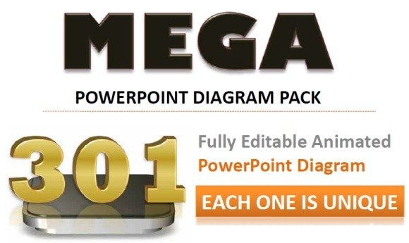 301 mega pack provides animated powerpoint diagram templates 301 mega powerpoint presentation diagrams pack toneelgroepblik Image collections