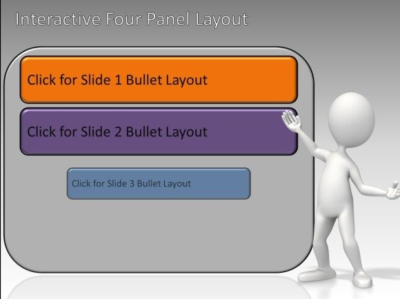 Interactive panels toolkit for powerpoint animated slides toneelgroepblik