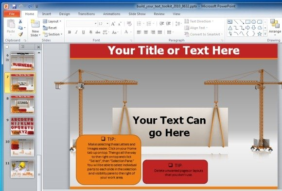 Build animated text slides in powerpoint with build your text toolkit custom animated slides toneelgroepblik Choice Image