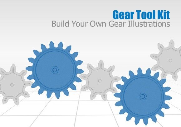 animated gears toolkit and templates for powerpoint presentations, Modern powerpoint