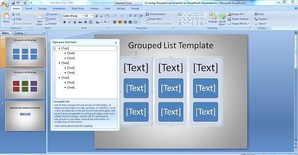Grouped List 1