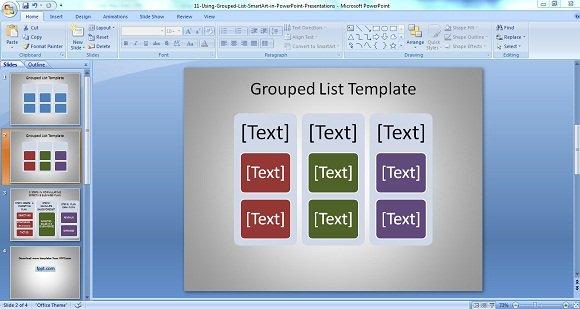 Grouped List 2