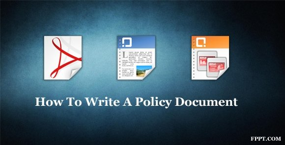 How To Write A Policy Document For Sales And Marketing