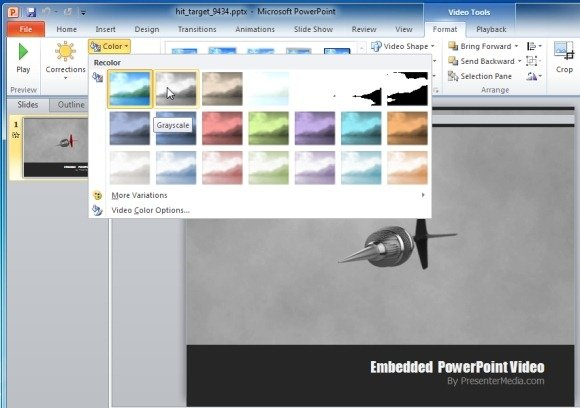 PowerPoint Video Tools