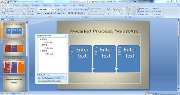 Using Detailed Process 1