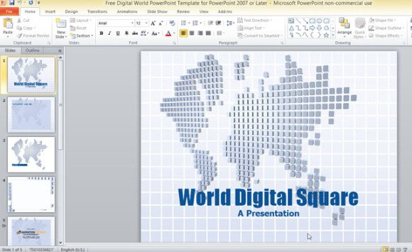 free-digital-world-powerpoint-template-for-powerpoint-2007-or-later-1