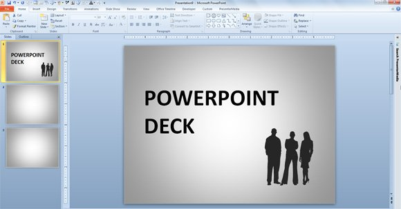 what is a powerpoint deck