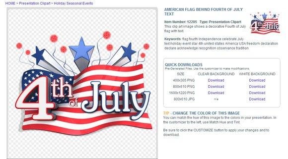 us animation powerpoint july 4th
