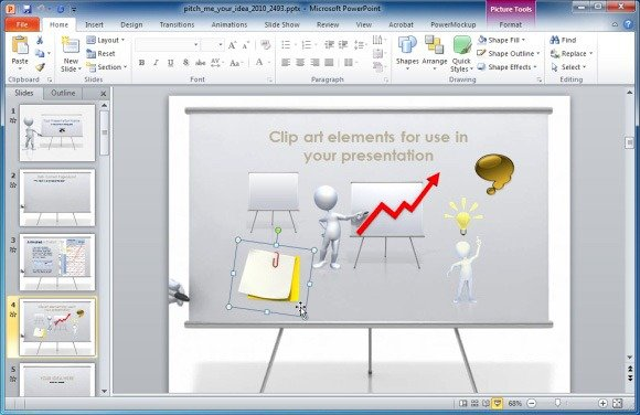 Present your ideas with pitch an idea animated powerpoint template clipart elements the pitch an idea powerpoint template can be downloaded toneelgroepblik Image collections