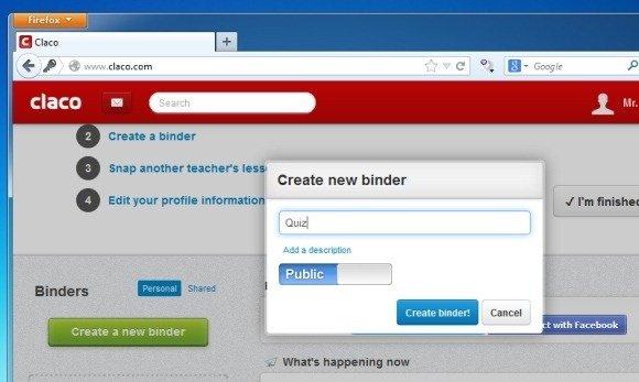 Create Binder