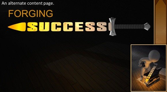 Animated forging success powerpoint template forging success powerpoint template maxwellsz