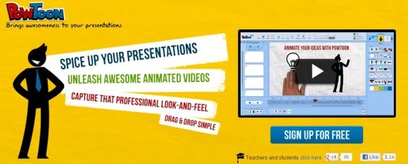 PowToon Create Animated Presentations Online