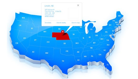 Free Us Map Template For Photoshop - Us-map-images-free