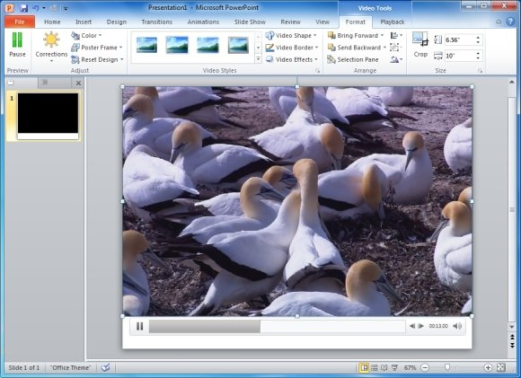Audio And Video in PowerPoint