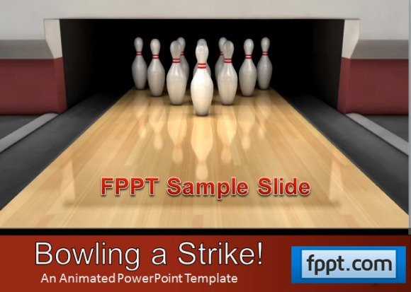Best sports powerpoint templates bowling a strikeg toneelgroepblik Image collections