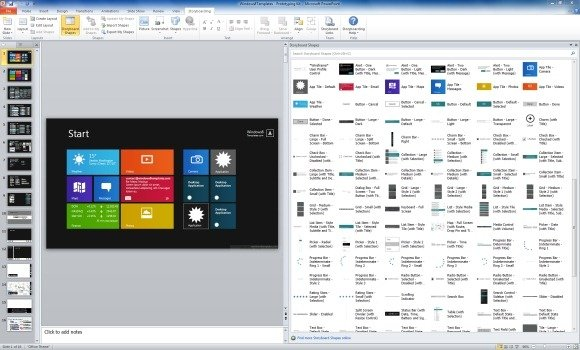 Download windows 8 powerpoint templates to create modern ui prototypes create elaborate prototypes for windows 8 and windows phone 8 toneelgroepblik Choice Image