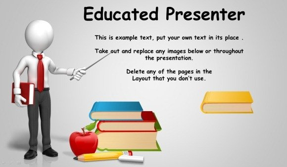 animated blackboard template for educational powerpoint presentations, Modern powerpoint
