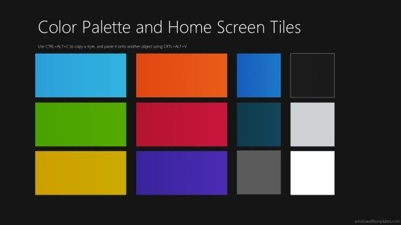 download windows 8 powerpoint templates to create modern ui prototypes, Presentation templates