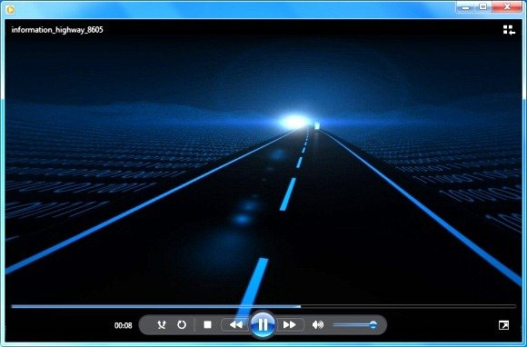 animated highway video for powerpoint presentations