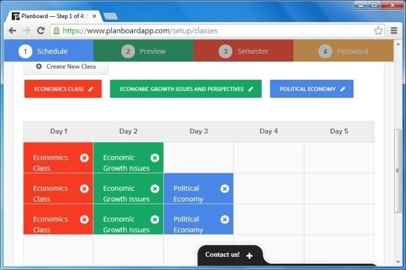 Planboard Web App For Teachers To Create And Manage Lesson Plans