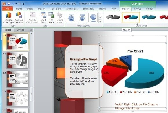 Animated Network PowerPoint Template For IT And Technology Presentations
