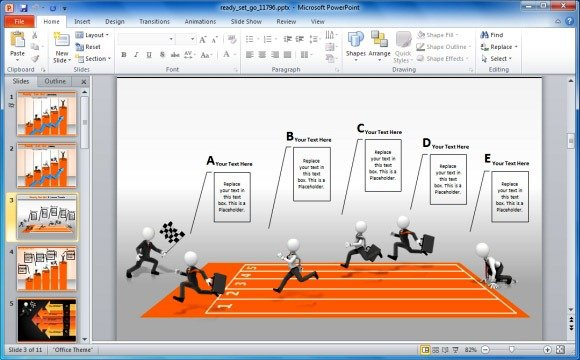 Create Business Performance PowerPoint Presentations With Ready Set