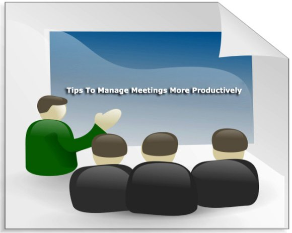 Manage Meetings More Productively