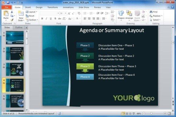 SmartArt And Presentation Layouts