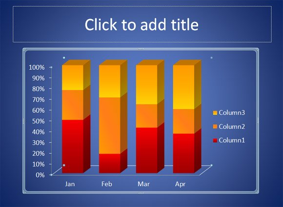 powerpoint chart add title