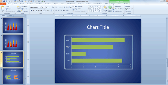 How to change powerpoint chart size position here is an example of the powerpoint chart after fitting the whole slide toneelgroepblik Gallery