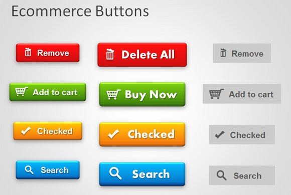 free ppt template buttons
