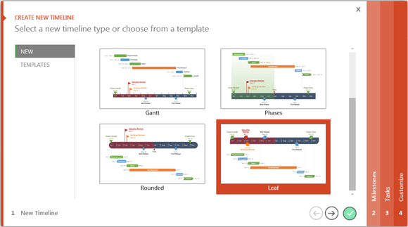 how to easily make pharmaceutical timelines in powerpoint, Modern powerpoint