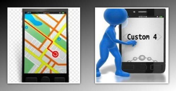 Custom Smartphone Clipart