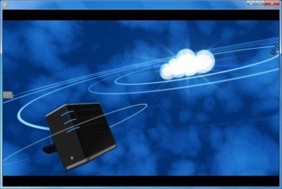 Digital Devices Orbit Cloud Video Background