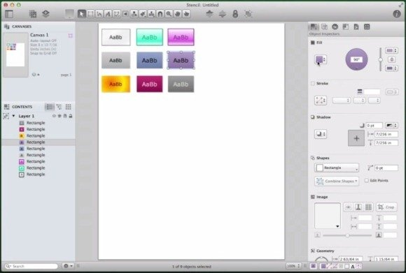 OmniGraffle Support For Multi-Touch Gestures