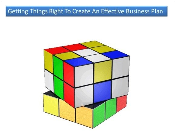 Solve Cube Puzzle For PowerPoint