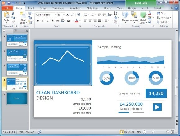 High quality charts dashboard powerpoint templates for presentations blue dashboard template for powerpoint toneelgroepblik Gallery