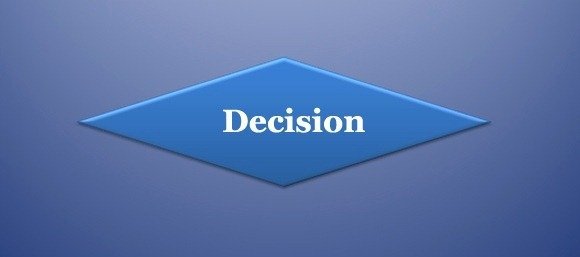 Decision Symbol in Flowchart