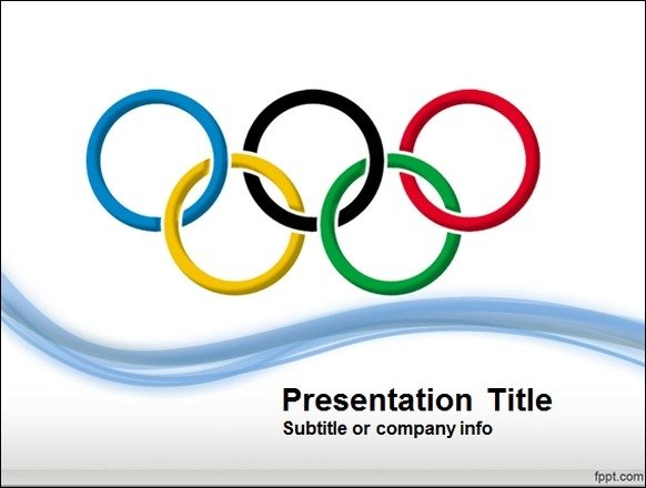 Free Olympic Games Powerpoint Template