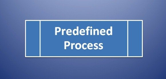 Predefined Process Symbol in Flowchart