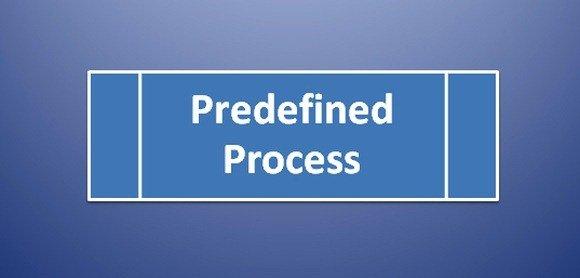 Predefined Process Symbol in Flowchart