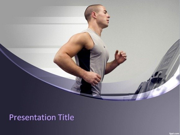 Run Trainer PowerPoint Template