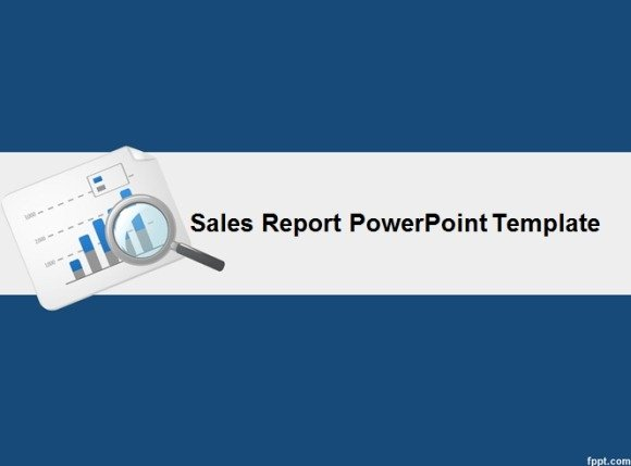 sales report powerpoint template