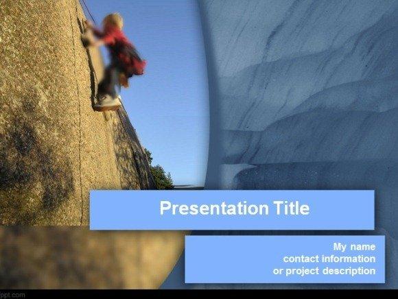 Trekkers PowerPoint Template