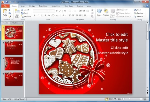 best holiday season powerpoint templates, Powerpoint templates