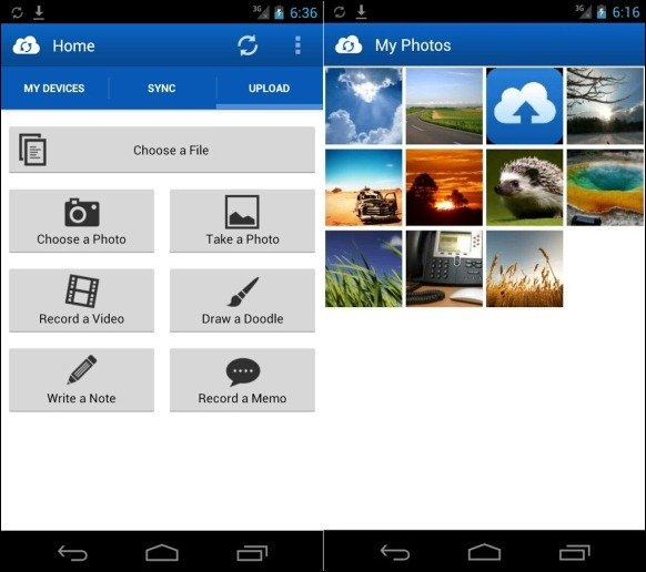 JustCloud For Android