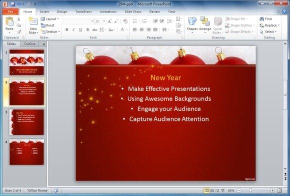 Best Holiday Season Powerpoint Templates