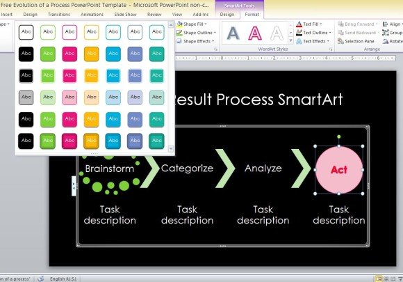 free-evolution-of-a-process-powerpoint-template-3